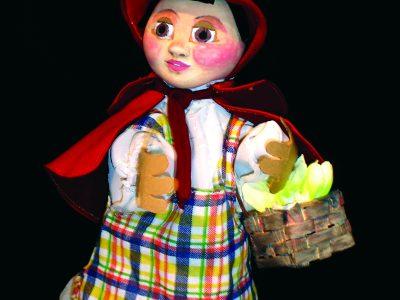 Chapeuzinho com cestinha cm