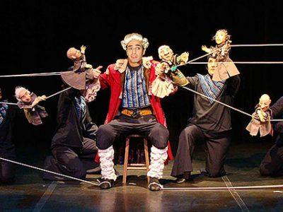 Gulliver preso por Bonecos minúsculos