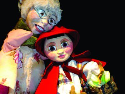 Vó e Chapeuzinho 1 cmik